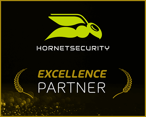 Logo: Hornet Security Excellence Partner