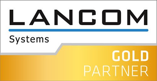 Logo: Lancom Systems Gold Partner