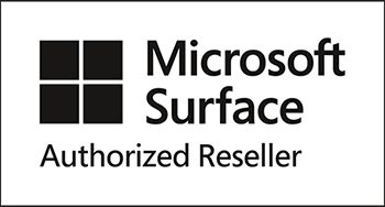 Logo: Microsoft Surface Authorized Reseller