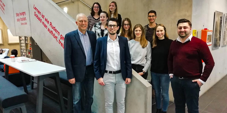 Gastvortrag von fly-tech in der Hochschule Augsburg