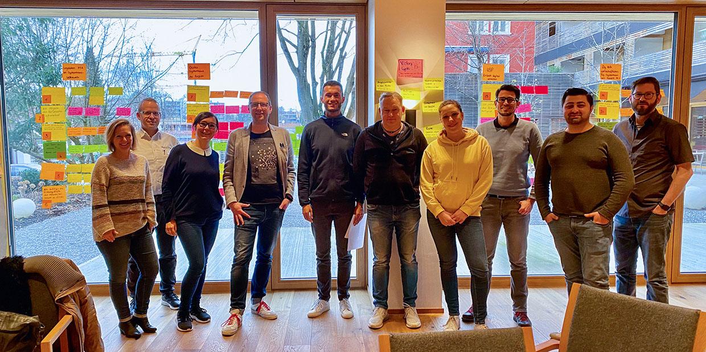 Das Team von fly-tech auf den Strategietagen 2020