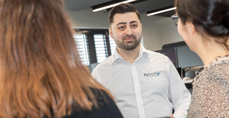 Özcan Sahin, Vertriebsleiter fly-tech