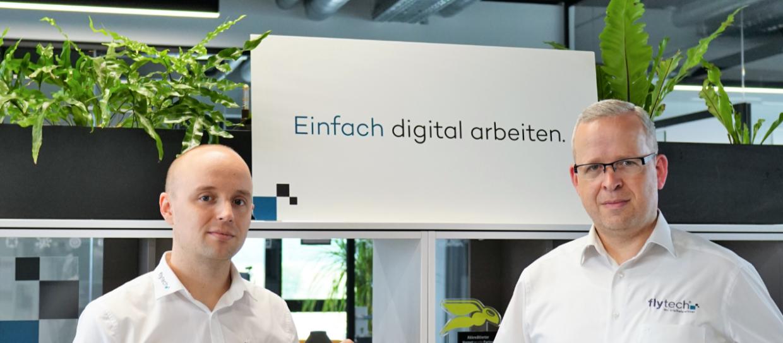 Christian Köhler und Marvin Schmidt, fly-tech